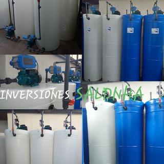 Tanques De Agua Cilindricos Sistema Completo