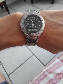 Relógio Citizen Titanium Quartz Funcionando Perfeitamente