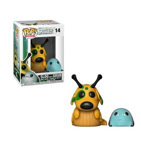 Funko Pop 14 Monsters - Slog W/ Pop Buddy Grub