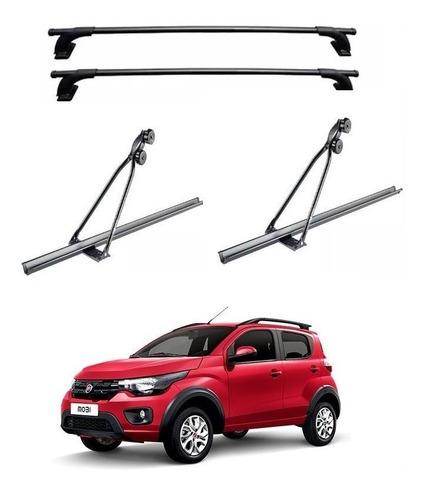 2 Portabicicleta Auto Techo + Portaequipaje Volkswagen Suran