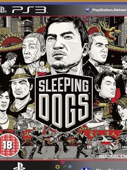 Ps3 Sleeping Dogs Digital Edition Psn Mídia Digital