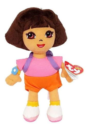 Imagem 1 de 2 de Ty Beanie Babies - Pelucia Dora Aventureira - 20cm - Dtc