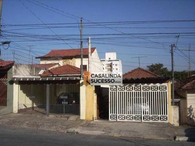 Terreno Com Construção Na Vila Matilde, 500m² Próximo Ao Metrô - Te0020. - Te0020
