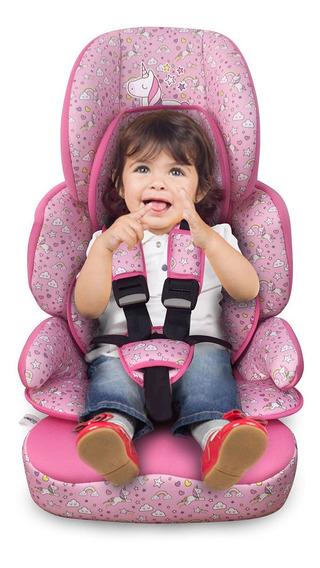 Cadeira Cadeirinha De Carro Infantil Maxi Baby - Unicórnio - Certificada Inmetro Até 7 Anos