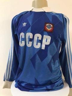 Camisa União Soviética Goleiro Rinat Dasaev Eurocopa 88