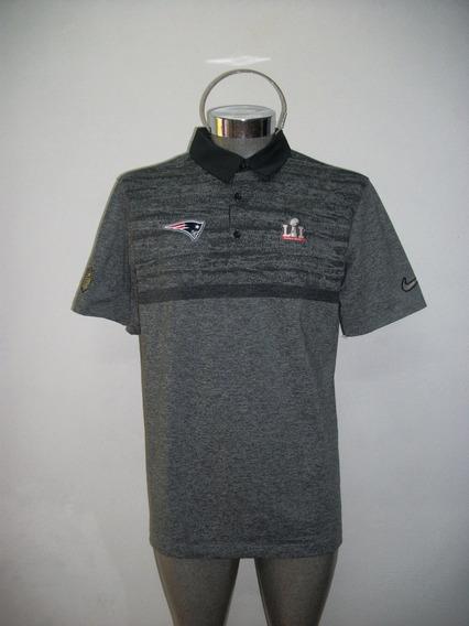 Playera Polo Original Nike Nfl Americano Patriotas Pats 1