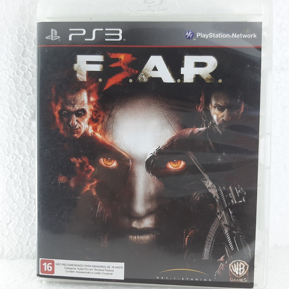 Fear 3 Playstation 3 Ps3 Mídia Física Original F.e.a.r F3ar