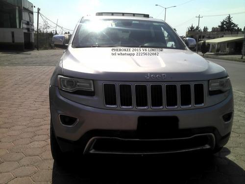 Imagen 1 de 15 de Jeep Grand Cherokee 2015 Limited V6 Automatica Eng $ 71,600
