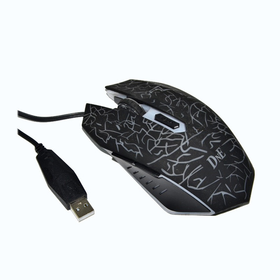 Mouse Optico Led Colorido Dne Ibe8603