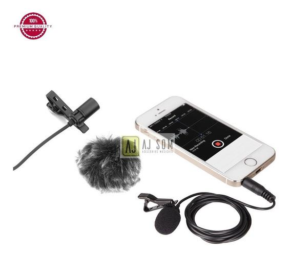 Microfone Profissional De Lapela P/celular-iPhone,samsung