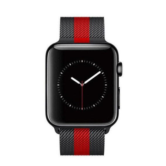 Correa Extensible Metal Milanese Para Apple Watch Serie 1-4