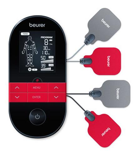 Imagen 1 de 10 de Electroestimulador Tens Ems Beurer Em 59 Funcion Calor