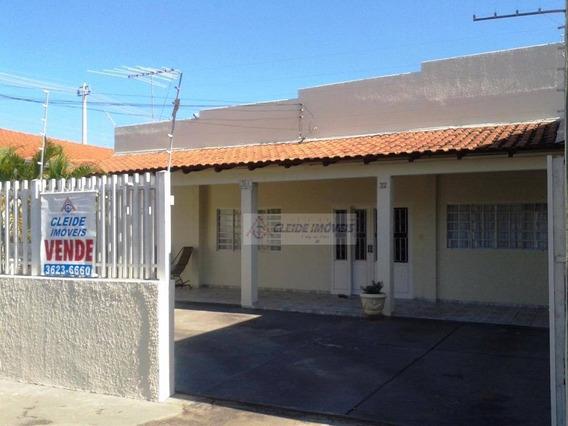 Casa Com 3 Dormitórios À Venda, 150 M² Por R$ 450.000 - Boa Esperança - Cuiabá/mt - Ca0018