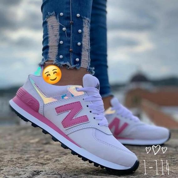 Tenis New Balance Mujer Rosados - Ropa y Accesorios en ...