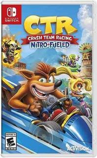 Juego Nintendo Switch Crash Team Racing Nitro-fueled