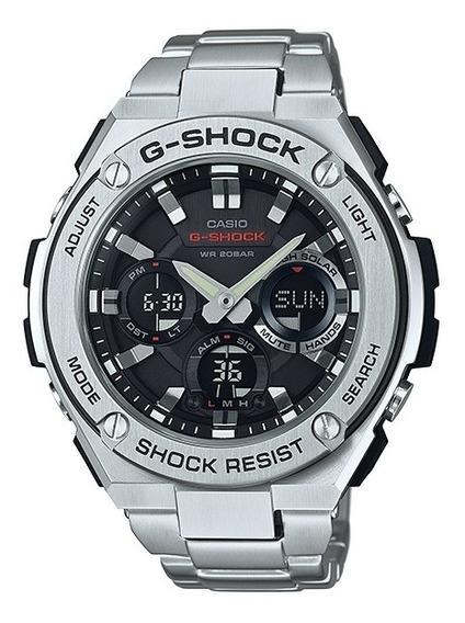 Relógio Casio G-shock Masculino Steel Anadigi Gst-s110d-1adr