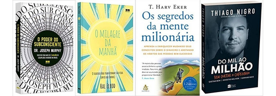 O Poder Do Subconsciente + Do Mil Ao Milhão + 2 Livros