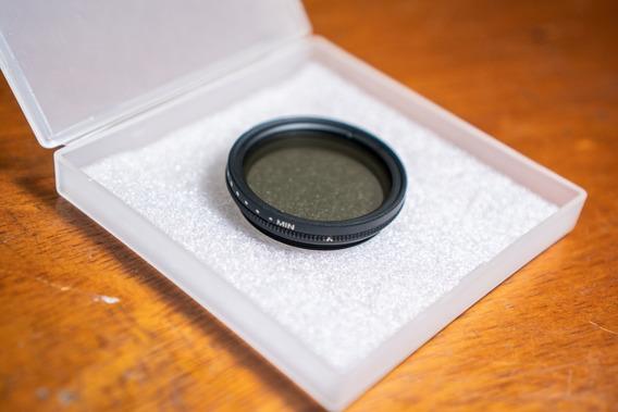 Nd Filter 40.5mm K&f Concept Slim Fader Filtro Exp Regul