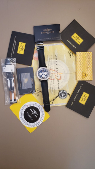 Relogio Breitling Navitimer B01 46mm - Compelto E Impecável