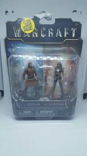 Warcraft Lothar Contra Garona Figuras De Accion Nueva