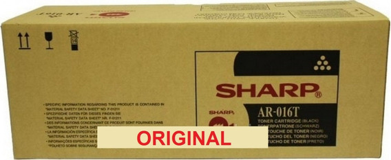 Cartucho Toner Original Sharp Ar5220 Ar5015 Ar-016nt 5220