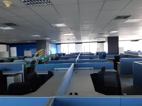 Edifício West Side - Venda - Conjunto 100% Mobiliado Com Estações De Trabalhos Divididos Em Baias, Armários Altos E Baix - 814