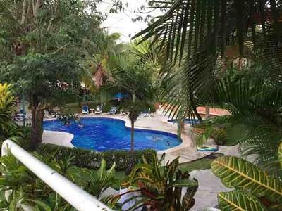 Economico Depa En Cancun Con Alberca Comun