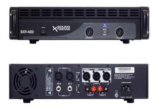 Amplificador De Potencia Sxp400 400 Rms P/ 4 Bafles Dancis