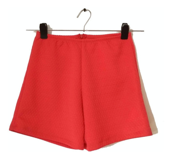 Short Elastizado Rojo Jorgelina Arza
