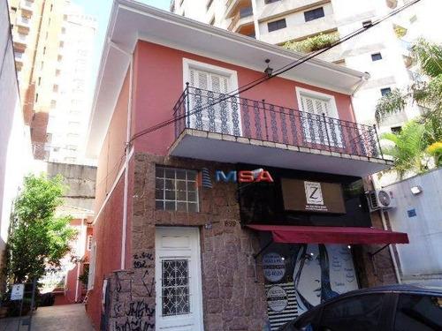 Imagem 1 de 10 de Casa Residencial À Venda, Perdizes, São Paulo. - Ca0126