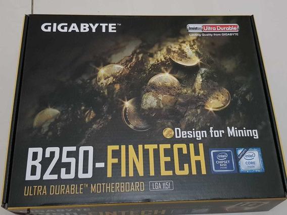 Placa Mãe B250 Fintech Gigabyte