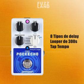 Pedal De Guitarra Ammoon Pockecho Delay & Looper
