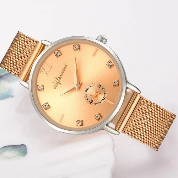 Relógio Feminino Original Á Prova D
