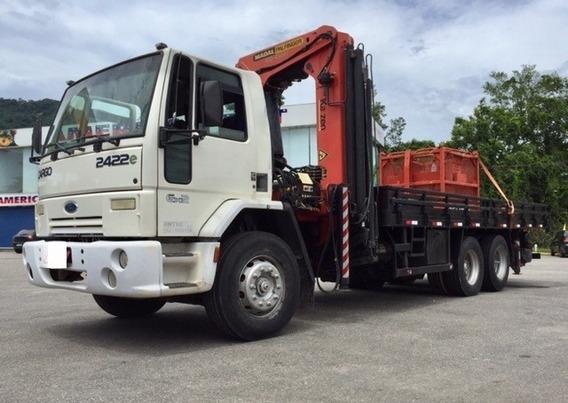 Caminhão Munck, 45 Ton, Ford Cargo 2422, M.palfinger 2013,