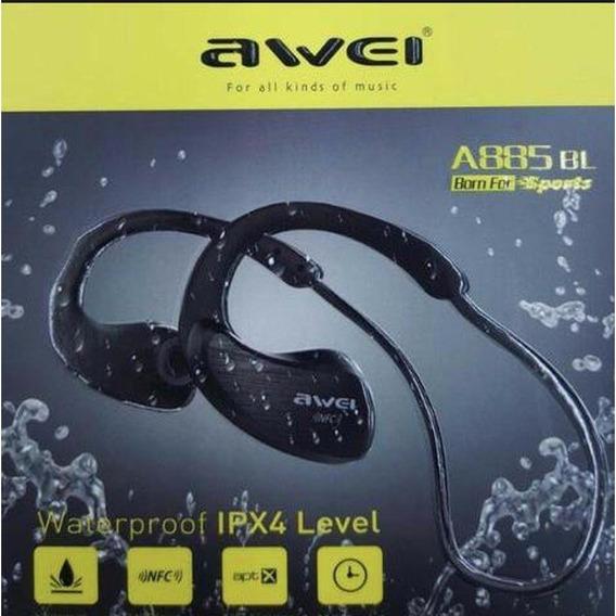 Fone Ouvido Awei A881bl Bluetooth Esportivo Ipx4 Nfc