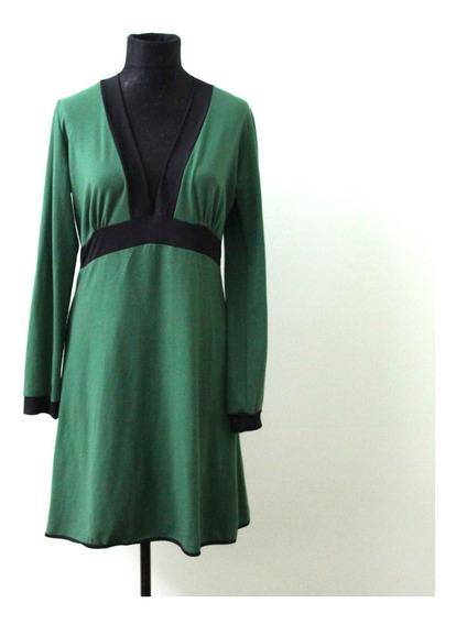 Vestido De Modal Marca Tramps Talle 40 - Envios