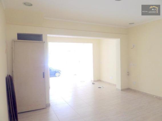 Salão Para Alugar, 100 M² Por R$ 3.400/mês - Mooca - São Paulo/sp - Sl0044