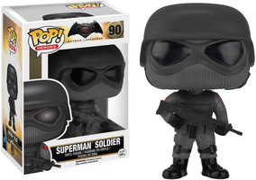 Funko Pop Superman Soldier (90) Batman Vs Superman