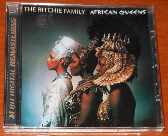 Cd - The Ritchie Family - African Queens - Remasters