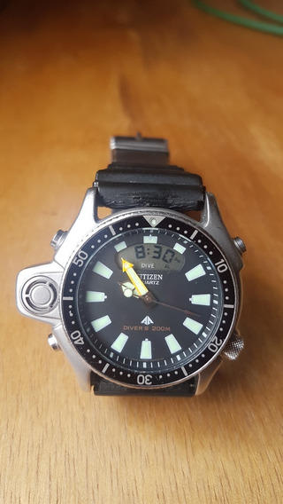 Relógio Citizen Aqualand Jp2000-08e / Tz10137t Serie Prata