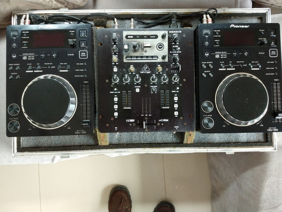 Cdj Pioneer 350 E Mixer Behringer.