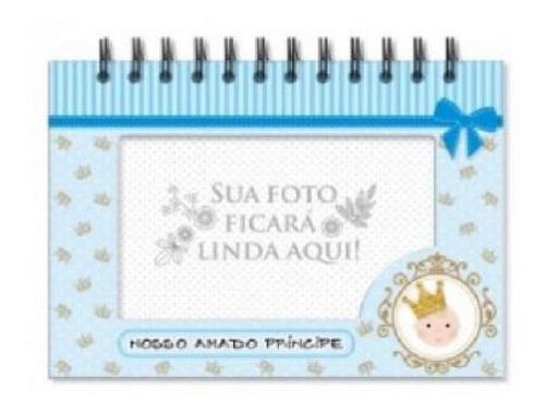Imagem 1 de 1 de Album De Fotos De Mesa Nascimento Principe - 4731