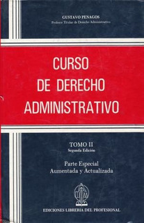 Libro S Curso De Derecho Administrativo. Parte Especial