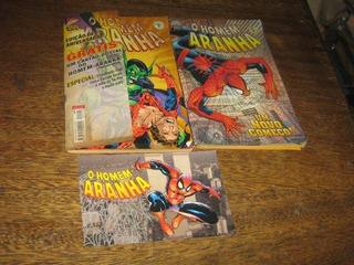 Homem Aranha Nº 200 Fev /2000 Com Brinde Cartão Postal Abril