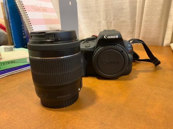 Câmera Fotográfica Semiprofissional Canon Eos Kiss X7