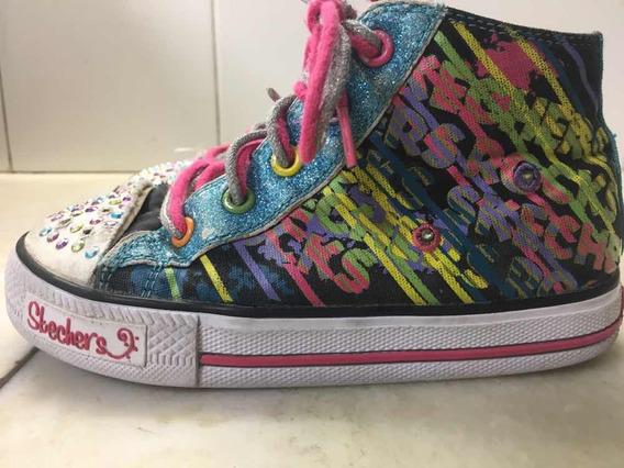 Zapatillas Botitas Skechers Para Nenas