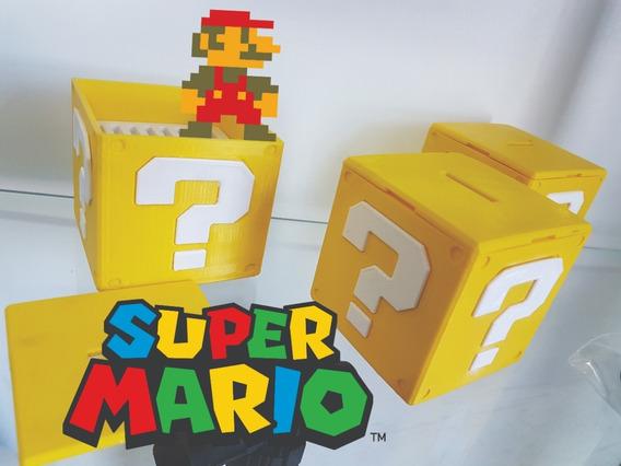 Question Block Mario Bros 3d