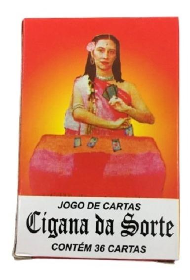 Baralho Jogo De Cartas Cigana Da Sorte Umbanda - 1 Unidade