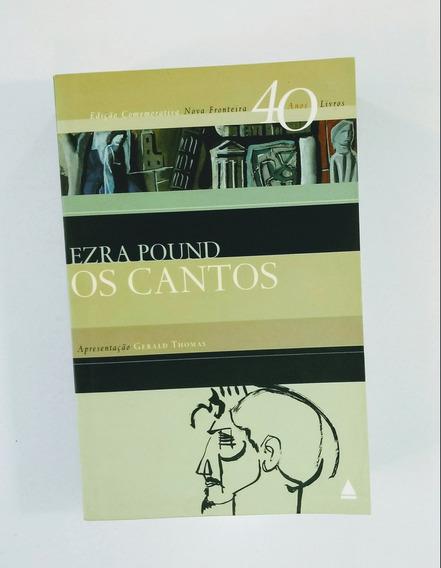 Livro Os Cantos - Ezra Pound - Edição Comemorativa