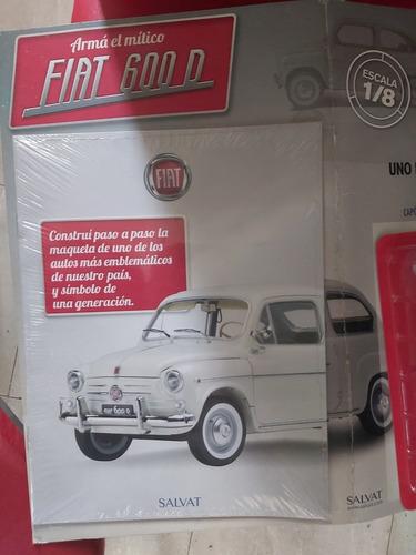 Fasiculo N°1 Fiat 600 Editorial Salvat